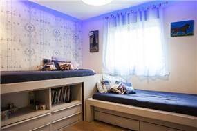 חדר ילדים בעיצוב של אלקה רימר