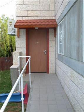 כניסה לבית - דירה נגישה