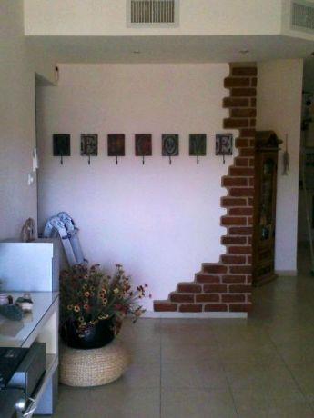 קיר בין מטבח לסלון, בעיצוב גינות פרובנס