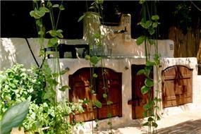 מטבח קיץ, בעיצוב גינות פרובנס