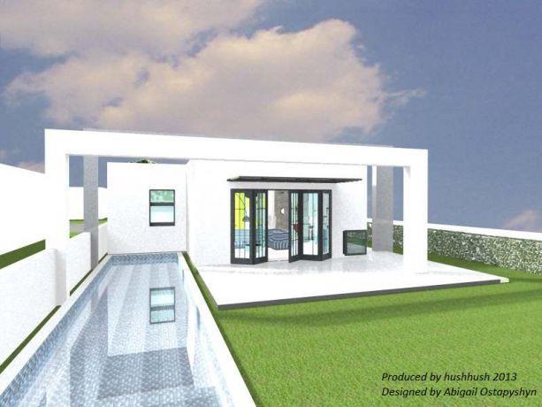 בית פרטי בתל אביב, בעיצוב hushhush