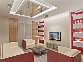 סלון בבית פרטי בעיצוב סטודיו Hushhush