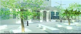 קניון לב העיר, קרית גת בעיצוב סטודיו hushhush