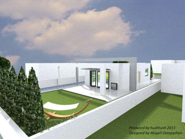 בית פרטי (תל אביב), בעיצוב סטודיו hushhush