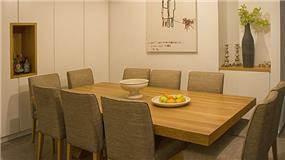 אזור פינת אוכל בעיצובה של or-tal עיצוב ותכנון פנים