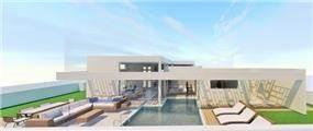 הדמיית וילה פרטית, UNIQUE - סטודיו לאדריכלות ועיצוב
