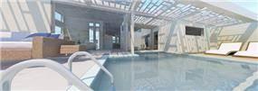 הדמיית של וילה פרטית, UNIQUE - סטודיו לאדריכלות ועיצוב