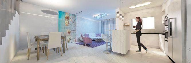 חלל מגורים מעוצב, UNIQUE - סטודיו לאדריכלות ועיצוב
