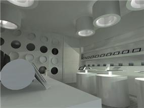 עיצוב חנות למוצרי סלולר - סטודיו Unique