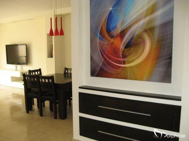 עיצוב מודרני חם למבואת כניסה, סטודיו מורפוז