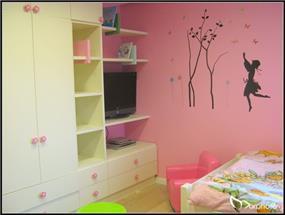 עיצוב חדר ילדים לבת, סטודיו מורפוז