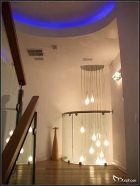 עיצוב חלל כפול ומבואת חדרים בתאורה, סטודיו מורפוז