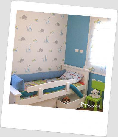 עיצוב חדר ילדים לבן, סטודיו מורפוז