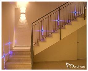 עיצוב מעלה מדרגות בתאורה, סטודיו מורפוז