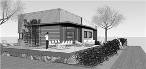 חזית בית פרטי, בנגסון אדריכלות
