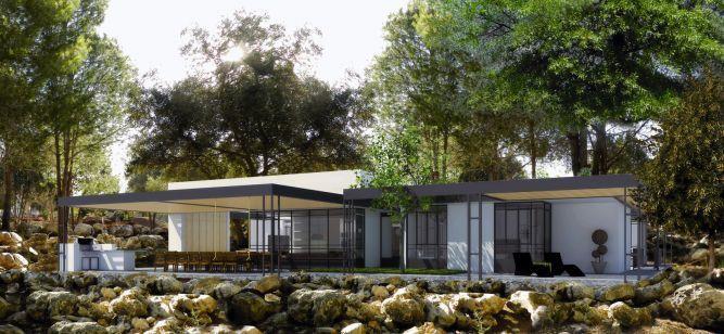 בית פרטי בסלעית, בנגסון אדריכלות