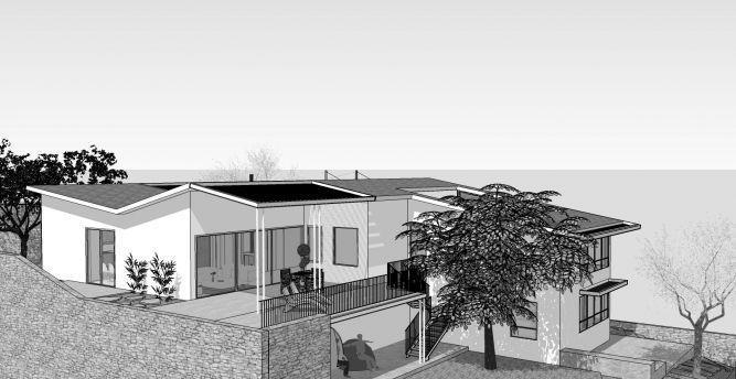 הדמייה של בית פרטי, בנגסון אדריכלות