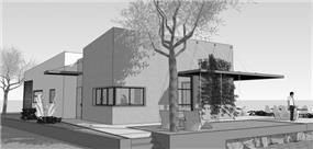 חזית בית מעוצבת, בנגסון אדריכלות