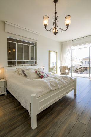 חדר שינה הורים - לב אדריכלות