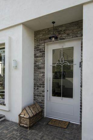 דלת כניסה לבית - לב אדריכלות