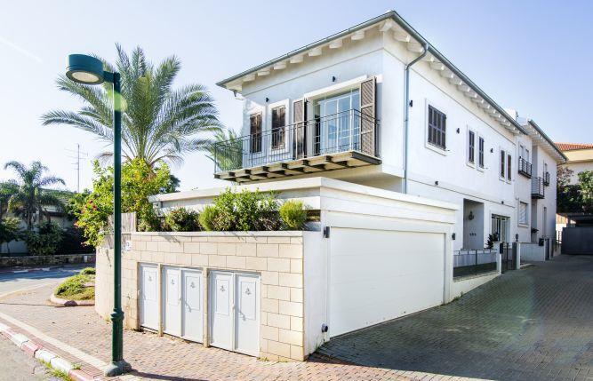חזית בית בסגנון פרובנס - לב אדריכלות