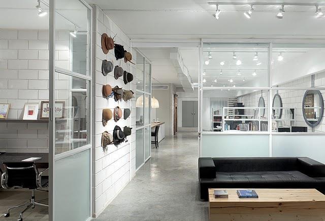 עיצוב סלון בלופט בייתי עבור חברת EXP- אטלס דרור אדריכלות ועיצוב