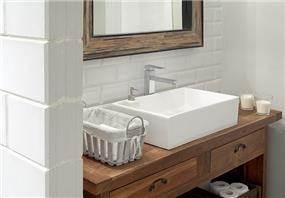 כיור וארון אמבטיה בלופט בייתי, עבור חברת EXP- אטלס דרור אדריכלות ועיצוב