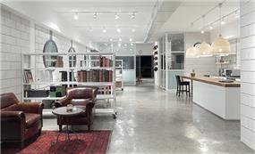 עיצוב לופט בייתי בסגנון מינימליסטי, עבור חברת EXP- אטלס דרור אדריכלות ועיצוב