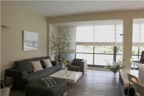 דירה בת''א, סלון - אטלס+דרור- סטודיו לאדריכלות ועיצוב
