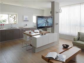 עיצוב פנטהאוז בגבעתיים - אטלס+ דרור- סטודיו לאדריכלות ועיצוב