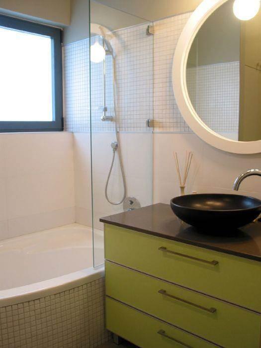 """דירה, ת""""א, חדר אמבטיה - אטלס+דרור- סטודיו לאדריכלות ועיצוב"""