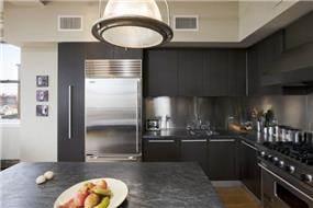 עיצוב מטבח בבית מגורים במנהטן- אטלס דרור אדריכלות ועיצוב