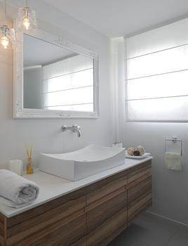 עיצוב חדר אמבטיה בפנטהאוז בגבעתיים - אטלס+ דרור- סטודיו לאדריכלות ועיצוב