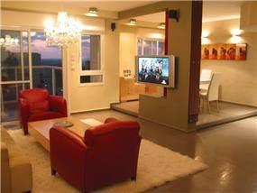 עיצוב דירה בצפון ת''א- אטלס דרור אדריכלות ועיצוב