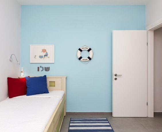 חדר ילדים לבנים, ליז זומר עיצוב ותכנון פנים