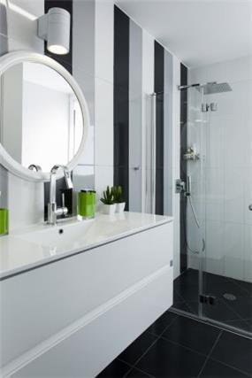 חדר אמבטיה לבן - ליז זומר