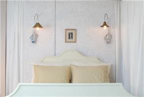 חדר שינה לבן, papillon - עיצוב פנים
