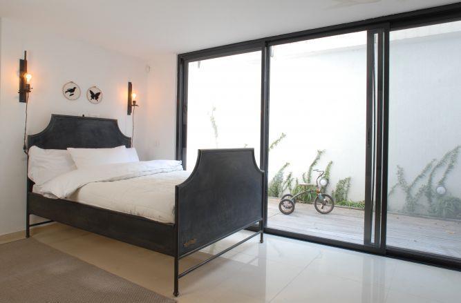 חדר שינה מסוגנן, papillon - עיצוב פנים