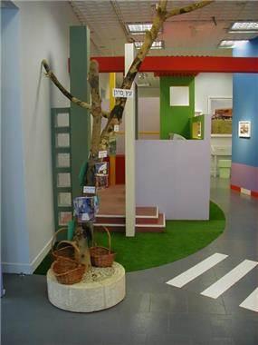 חלל ייצוגי לילדים - רוית יריב ארכיטקטורה