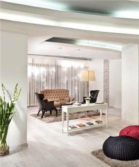 לובי מלון מעוצב - גלעד חממי
