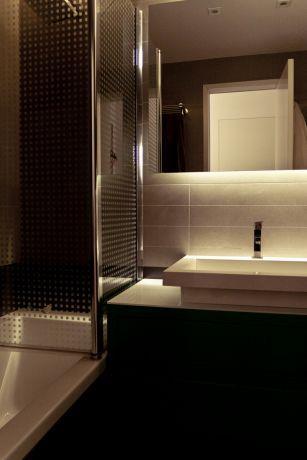 חדר אמבטיה, GammaArc Group אדריכלים : יבגני צ'ולך ודניאל ברקובסקי