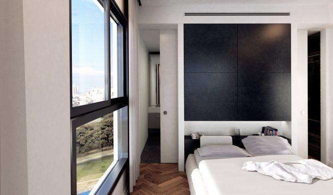 חדר שינה מרשים, של GammaArc Group אדריכלים : יבגני צ'ולך ודניאל ברקובסקי