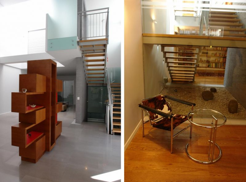 עיצוב מדרגות והכנסת אור למרתף