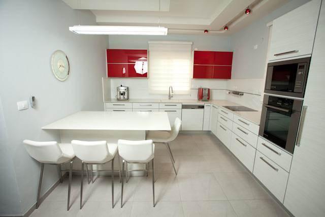 מטבח לבן, אילנה וייזברג I.V Design