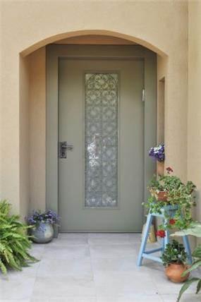 כניסה לבית, הגר אדריכלות ועיצוב