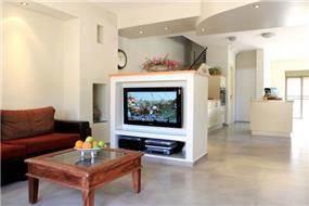 מבט מהסלון,הגר אדריכלות ועיצוב