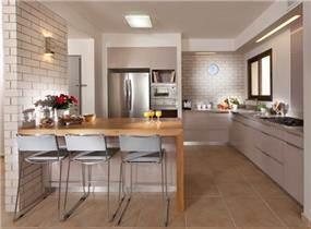דלפק אוכל במטבח, הגר אדריכלות ועיצוב