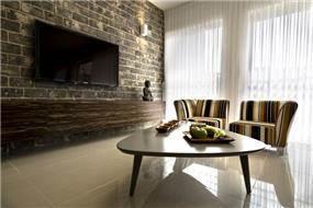 סלון אורבאני, Inside design