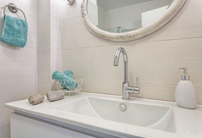חדר אמבטיה לבן, Inside Design
