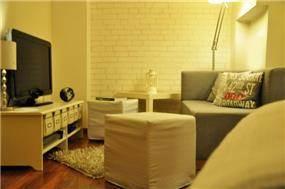 סלון בדירת סטודיו, Inside Design